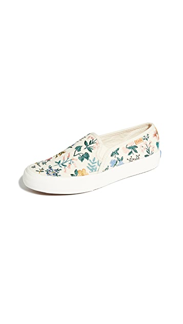 Keds x Rifle Paper Co. Double Decker Wildflower Sneakers