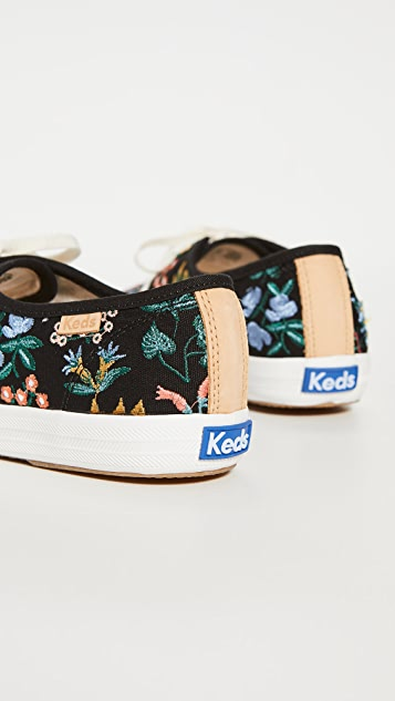 Keds x Rifle Paper Co. Champion Wildflower Sneakers
