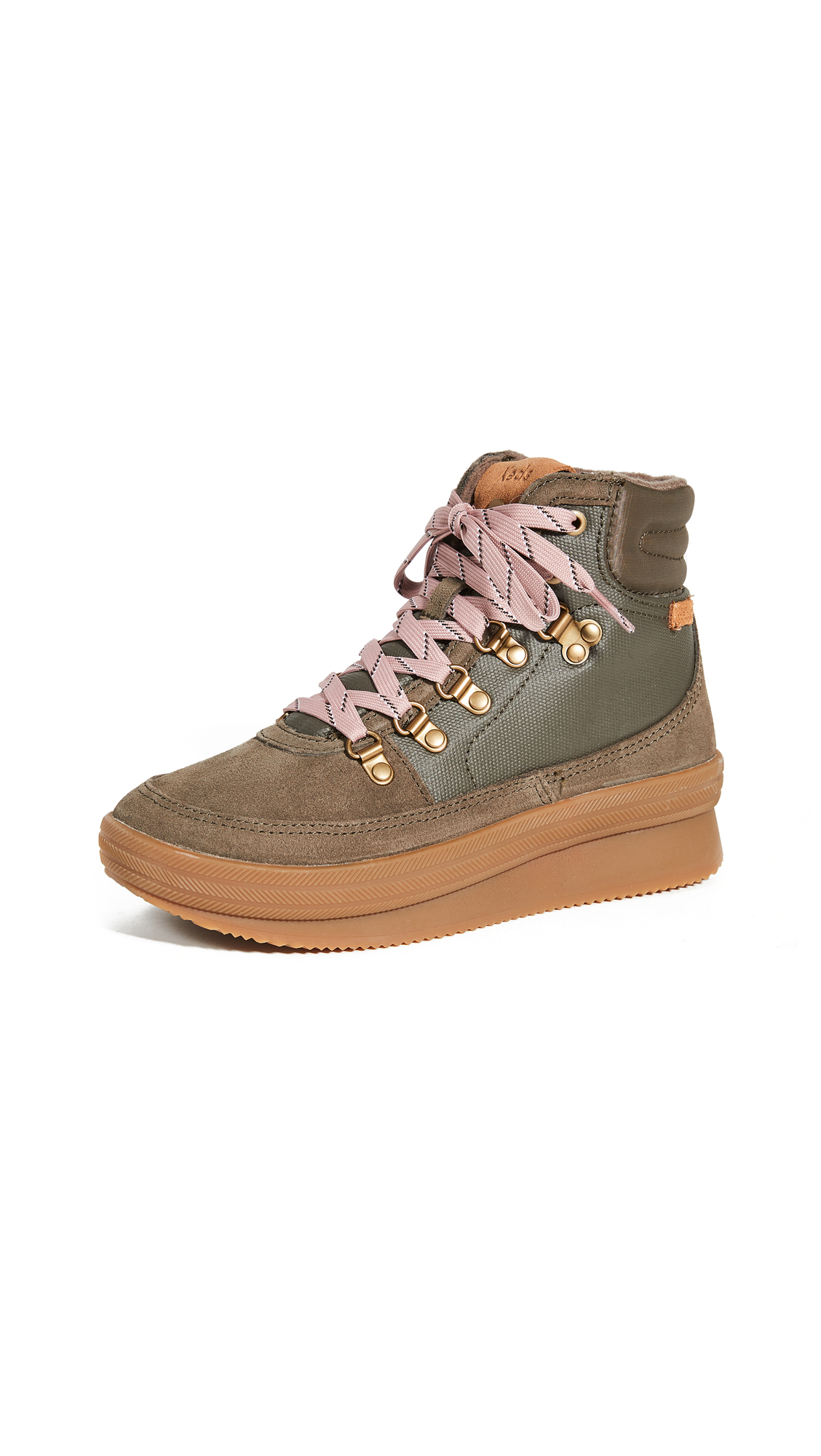 Keds MIDLAND WAXED CANVAS SNEAKER BOOTS