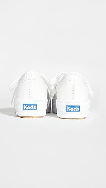 Keds Triple Kick 皮运动鞋