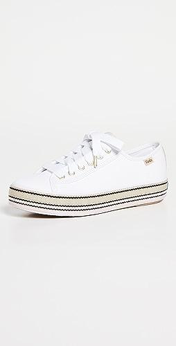 Keds - x Kate Spade Triple Kick Sneakers