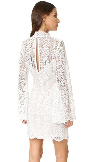 Keepsake Uptown Lace Mini Dress