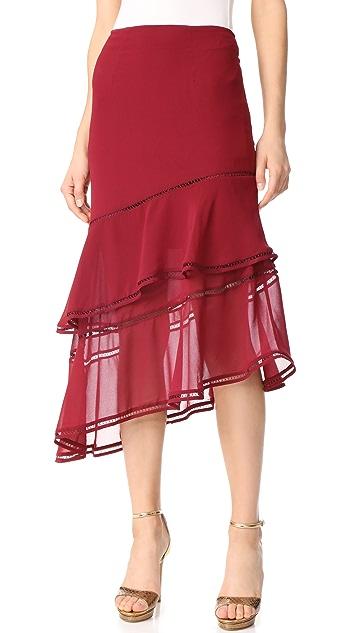 Keepsake Lovers Holiday Skirt