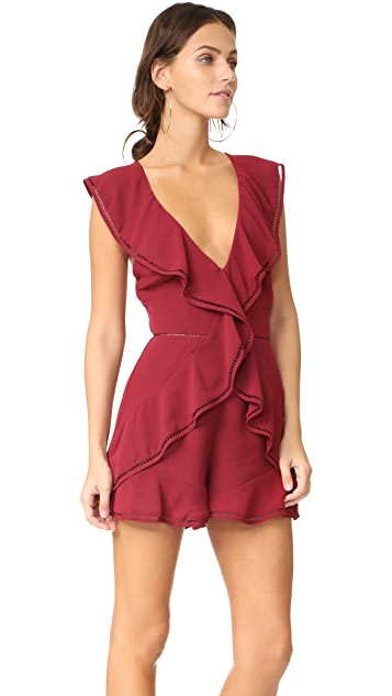 Keepsake Lovers Holiday Romper