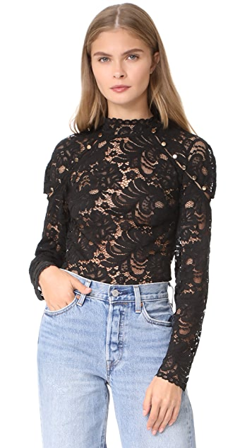 Keepsake Star Crossed Lace Top