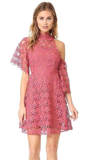 Keepsake Stay Close Lace Mini Dress