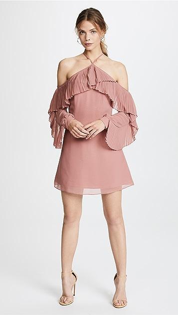 Keepsake Last Dance Long Sleeve Mini Dress