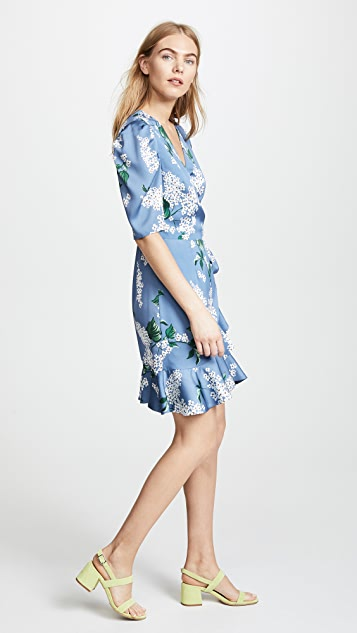 Keepsake This Moment Wrap Dress