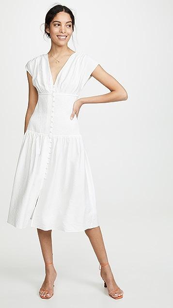 Keepsake Secure Midi Dress - Ivory
