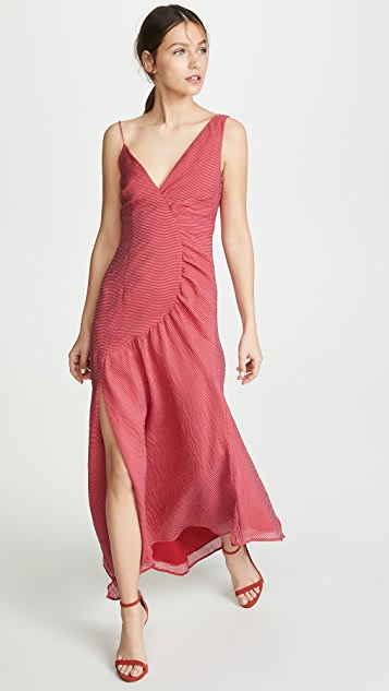 Keepsake Boundaries Gown - Scarlet Red