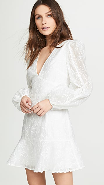 Keepsake Wild Love Long Sleeve Dress - Ivory