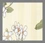 лимонный с цветочным рисунком