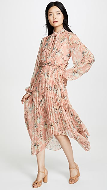 Keepsake Unravel Long Sleeve Dress