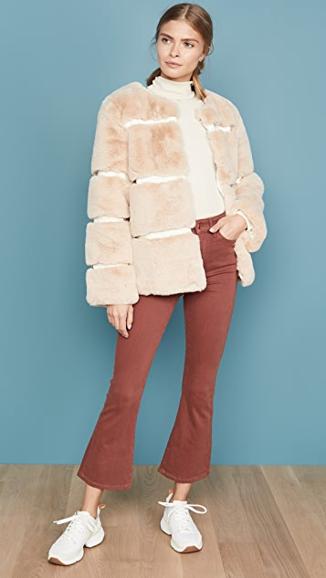 Keepsake Ariel Faux Fur Coat