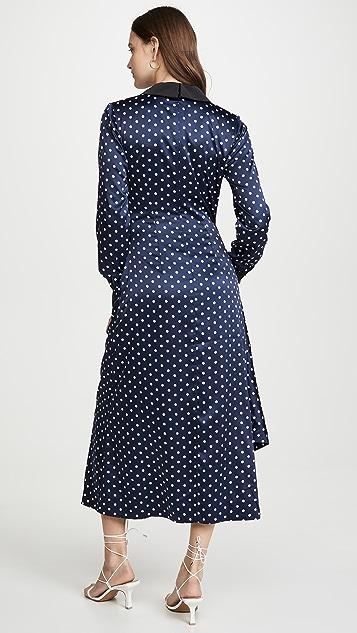 Keepsake Миди-платье Foolish с длинными рукавами