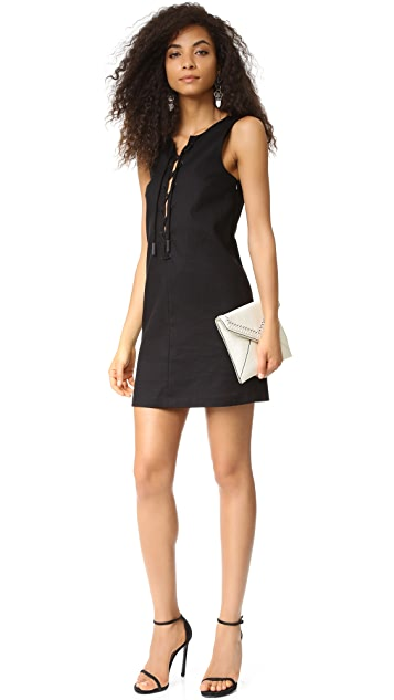 KENDALL + KYLIE Lace Front Dress