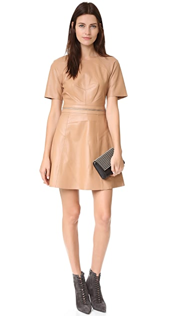 KENDALL + KYLIE Leather Dress