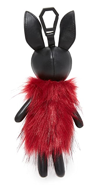 KENDALL + KYLIE Norman Faux Fur Charm