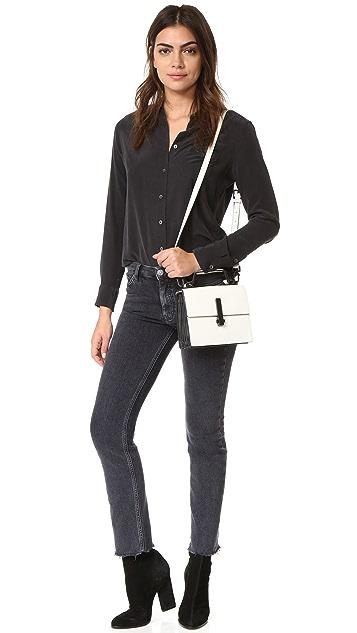 KENDALL+KYLIE Миниатюрная сумка Minato с ручкой сверху