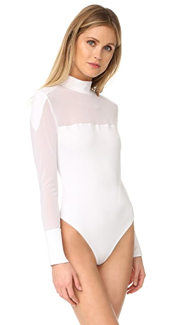 KENDALL + KYLIE High Neck Thong Bodysuit