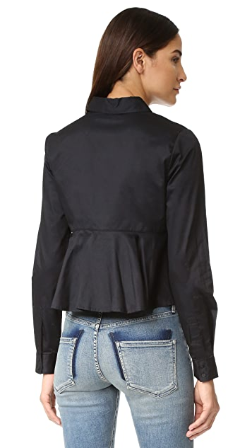 KENDALL + KYLIE Cropped Shirt