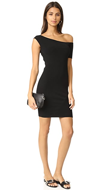 KENDALL + KYLIE Asymmetrical One Shoulder Dress