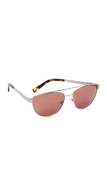 KENDALL + KYLIE Lexi Aviator Sunglasses