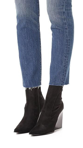 KENDALL + KYLIE Fallyn Sock Booties