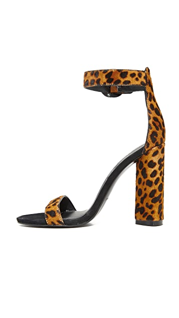 KENDALL + KYLIE Giselle Leopard Sandals