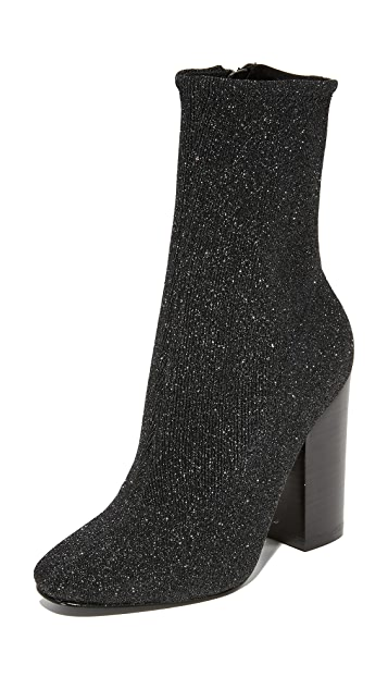KENDALL + KYLIE Hailey Sparkle Booties
