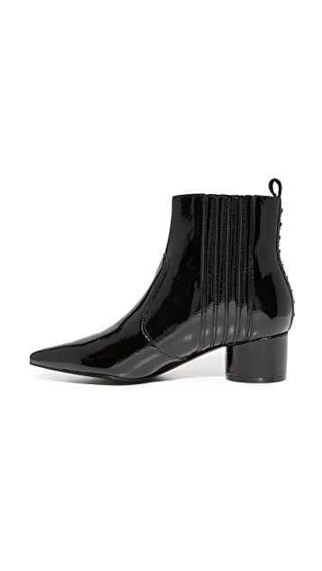 KENDALL + KYLIE Laila III Patent Booties