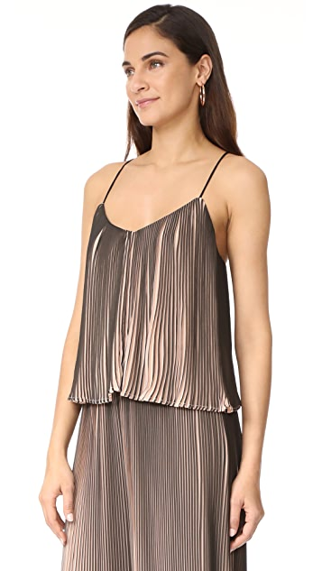 KENDALL + KYLIE Pleated Top