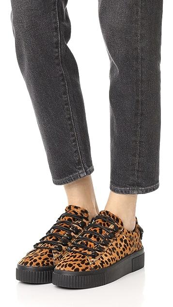KENDALL + KYLIE Rae IV Leopard Sneakers