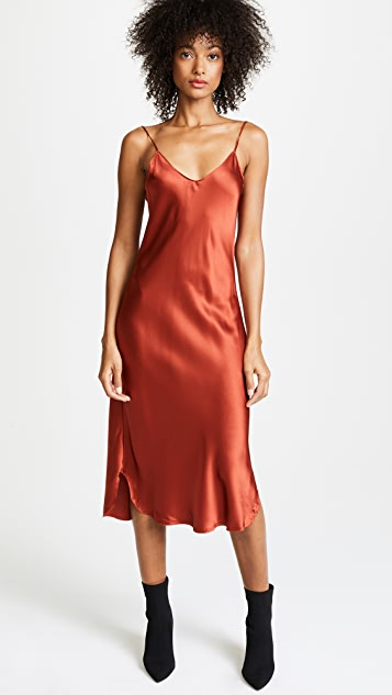 79e3331eca KENDALL + KYLIE Silk Slip Dress