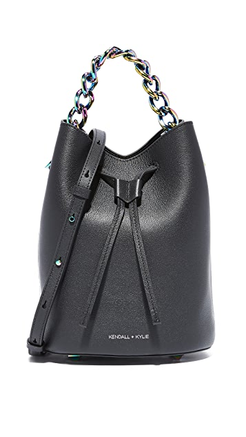 d6decf429fe9 KENDALL + KYLIE Ladie Mini Bucket Bag
