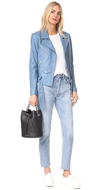 KENDALL + KYLIE Ladie Mini Bucket Bag
