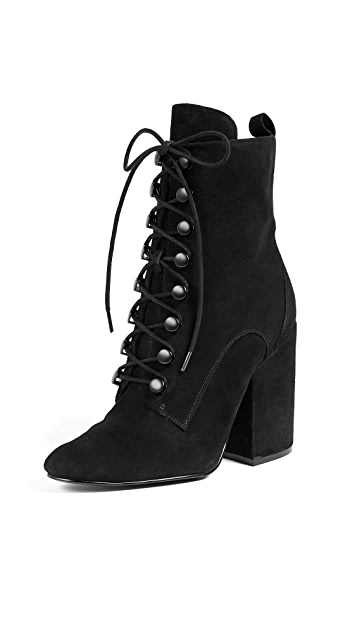 KENDALL + KYLIE Bridget Lace Up Booties