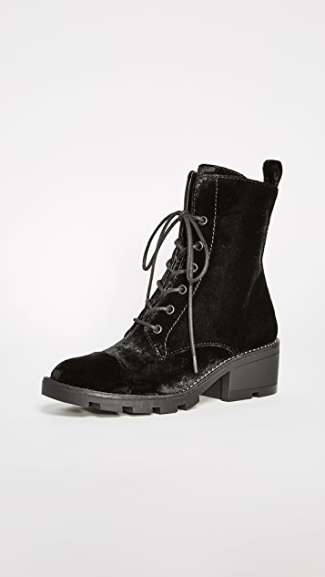 KENDALL + KYLIE Park Lace Up Booties ...