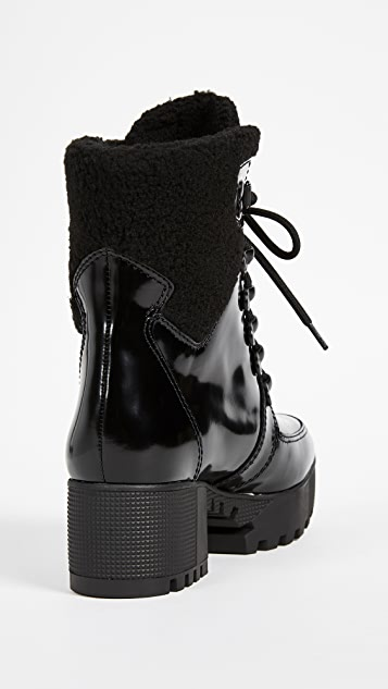KENDALL + KYLIE Paxton Lace Up Boots
