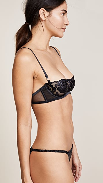 KENDALL + KYLIE Embroidery Mesh Bra