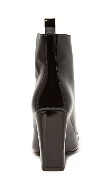 KENDALL + KYLIE Raquel Patent Zip Up Booties