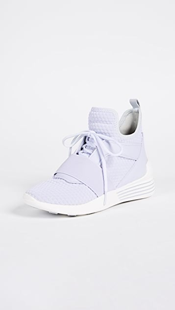 KENDALL + KYLIE Braydin Lace Up Sneakers - Light Grey