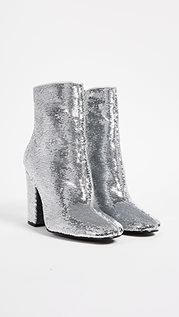 KENDALL + KYLIE Haedyn Block Heel Ankle Boots