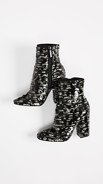 KENDALL + KYLIE Haedyn Block Heel Ankle Boots