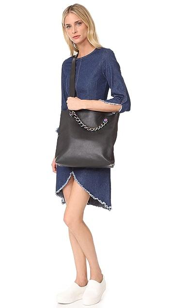 KENDALL + KYLIE Van Fold Over Cross Body Bag