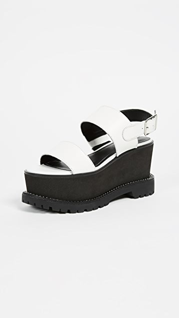 5cb189ebdf981b KENDALL + KYLIE Cady Platform Sandals