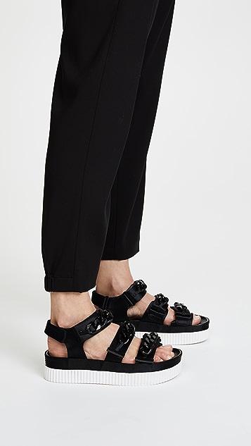 KENDALL + KYLIE Ivie Platform Chain Sandals