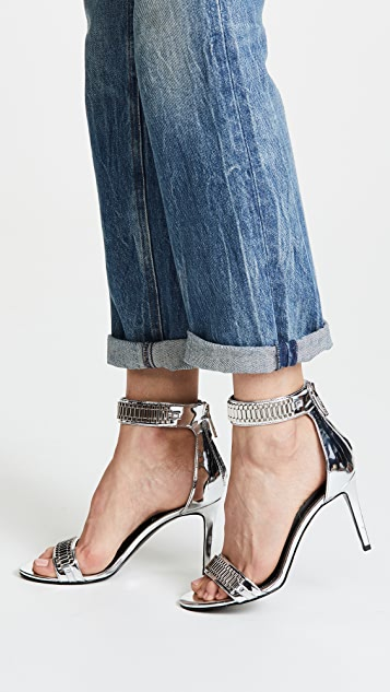 KENDALL + KYLIE Mia Ankle Strap Sandals