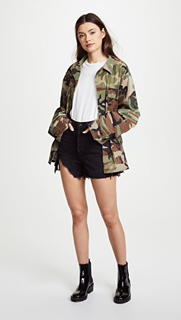 KENDALL + KYLIE Open Back Jacket