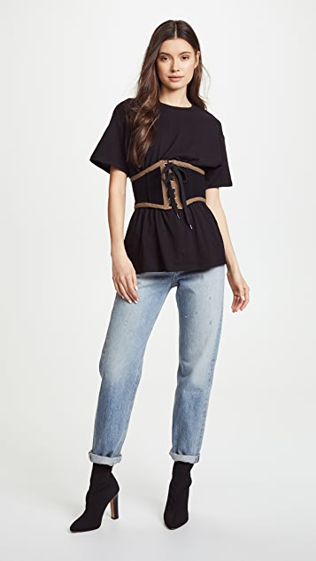 KENDALL + KYLIE Corset Tee
